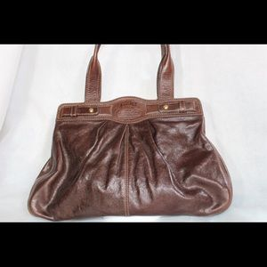 Coach Garnet Soft Turn Lock 13924 Leather Satchel
